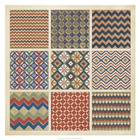 Pattern Patch I Fine Art Print