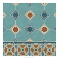 Moroccan Tile IV Framed Print
