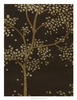 Gilded Bough II Framed Print