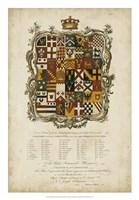 Edmondson Heraldry I Fine Art Print