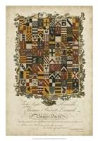 Edmondson Heraldry IV Fine Art Print