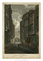 Butcher Row, London Fine Art Print