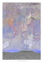 Silvery Moon II Framed Print