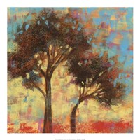 Kaleidoscope Trees II Framed Print