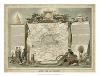 Atlas Nationale Illustre I Fine Art Print