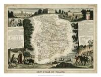 Atlas Nationale Illustre II Fine Art Print