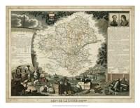Atlas Nationale Illustre III Fine Art Print