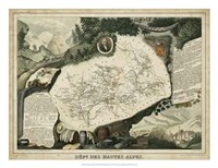 Atlas Nationale Illustre VIII Fine Art Print