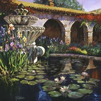 Fountain at San Miguel II Fine Art Print