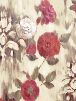 Ikat Rose II Fine Art Print