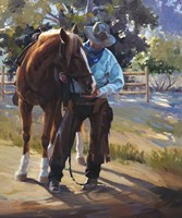 Pardners Fine Art Print