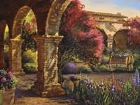 Mission Garden Fine Art Print