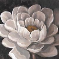 Neutral Fleur I Framed Print