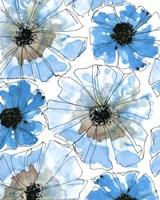 Water Blossoms I Framed Print