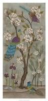 Gardenia Chinoiserie I Fine Art Print