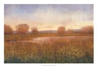 Golden Hour I Framed Print
