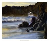 Sunset on Santa Cruz Fine Art Print