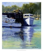 Morning at the Marina Fine Art Print
