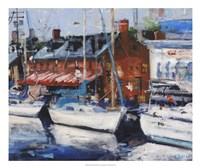 Annapolis Wharf Fine Art Print