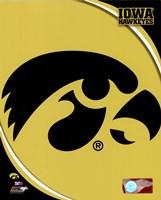University of Iowa Hawkeyes Logo Fine Art Print