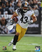 Troy Polamalu with the ball 2013 Fine Art Print