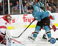 Logan Couture Stickhandling Puck Fine Art Print