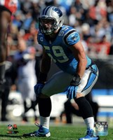 Luke Kuechly 2013 Action Fine Art Print