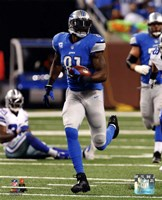 Calvin Johnson 2013 Action Fine Art Print