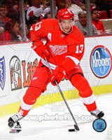 Pavel Datsyuk 2013-14 hockey Fine Art Print