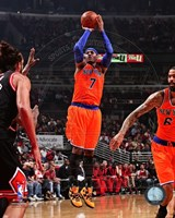 Carmelo Anthony 2013-14 shooting Fine Art Print