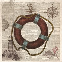 Nautical Collection IV - Mini Fine Art Print