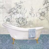 Garden Bath II - Mini Framed Print