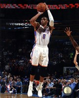 Russell Westbrook 2013-14 Action Fine Art Print