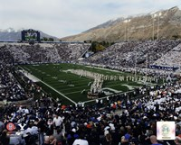 LaVell Edwards Stadium BYU Cougars 2013 Fine Art Print