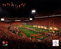 Memorial Stadium Clemson University Tigers 2013 Fine Art Print
