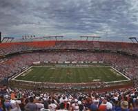 Sun Life Stadium University of Miami Hurricanes 2013 Fine Art Print