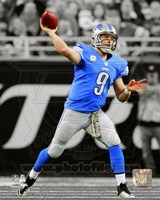 Matthew Stafford 2013 Spotlight Action Fine Art Print