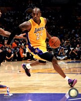 Kobe Bryant 2013-14 Action Fine Art Print