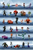 Disney Infinity - Phase 1 Grid Wall Poster