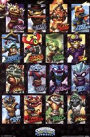 Skylanders Swap Force -Swappables Wall Poster