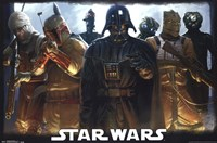 Star Wars - Bounty Hunters Wall Poster