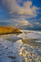 Stage Cove, Near Bunmahon, The Copper Coast, County Waterford, Ireland Fine Art Print