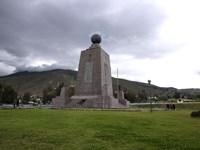 Middle of the World Monument, Mitad Del Mundo, Quito, Ecuador Fine Art Print