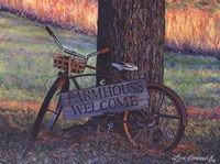 Farmhouse Welcome Fine Art Print