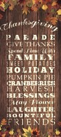 Thanksgiving Fine Art Print