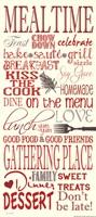 Mealtime Framed Print
