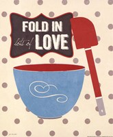 Fold In Love Framed Print