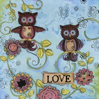 Love Owl Fine Art Print