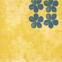 Yellow Floral Fine Art Print