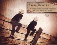 Cowboy Reason II Fine Art Print